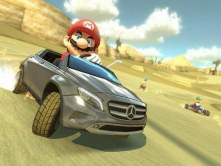 Video: Mercedes-Benz GLA llega a Mario Kart 8
