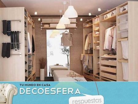 ¿Prefieres un vestidor con puertas o sin puertas en los armarios? La pregunta de la semana