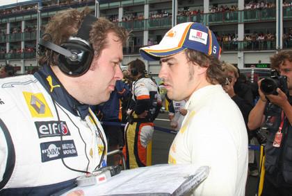 Alonso descarta luchar por el podio en Silverstone