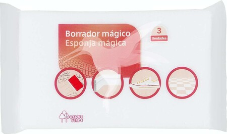 Pack De 3 Esponjas Borrador Magico Bosque Verde De Mercadona 1588638614