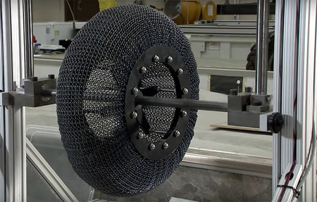Nasa Superelastic Tire