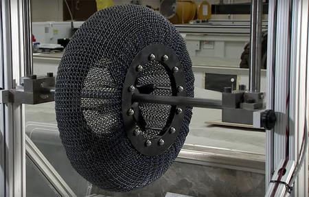 Nasa Superelastic Tire