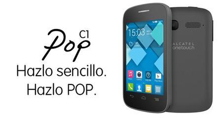 Alcatel OneTouch Pop C1, precio y disponibilidad con Telcel