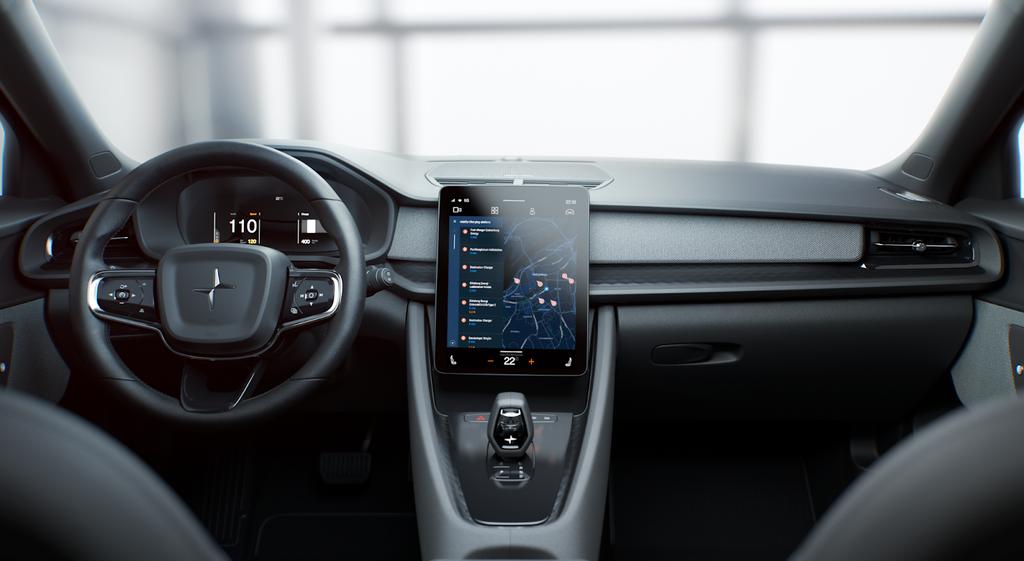 El Polestar dos será el primer vehículo en calcular con Android™ Automotive OS y las app de Google™ integradas