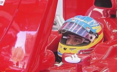 Fernando Alonso marca el mejor tiempo en la tercera sesión de entrenamientos libres, primera en seco