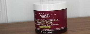 Levantarse con una piel suave y bonita es posible con la Mascarilla Ginger e Hibiscus de Kiehl's. La probamos