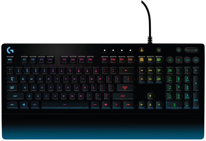 Logitech G - G213 PRODIGY - Teclado con Iluminación RGB para Gaming - Negro