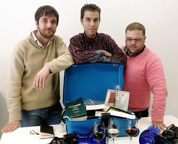 equipo de cata de Guia Peñin