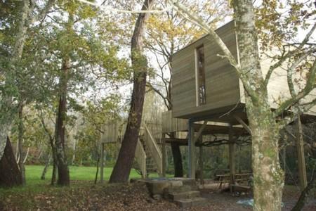 Si de niño no tuviste casita del árbol, ponle remedio con una escapada al bosque