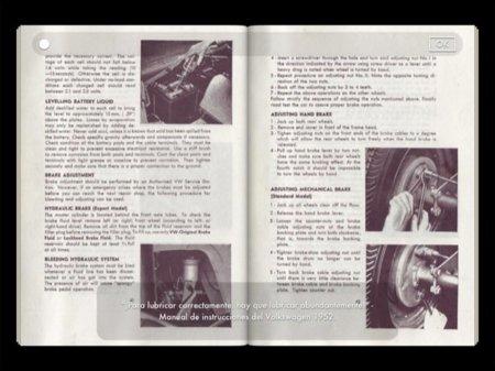 Manual de instrucciones del VW Beetle
