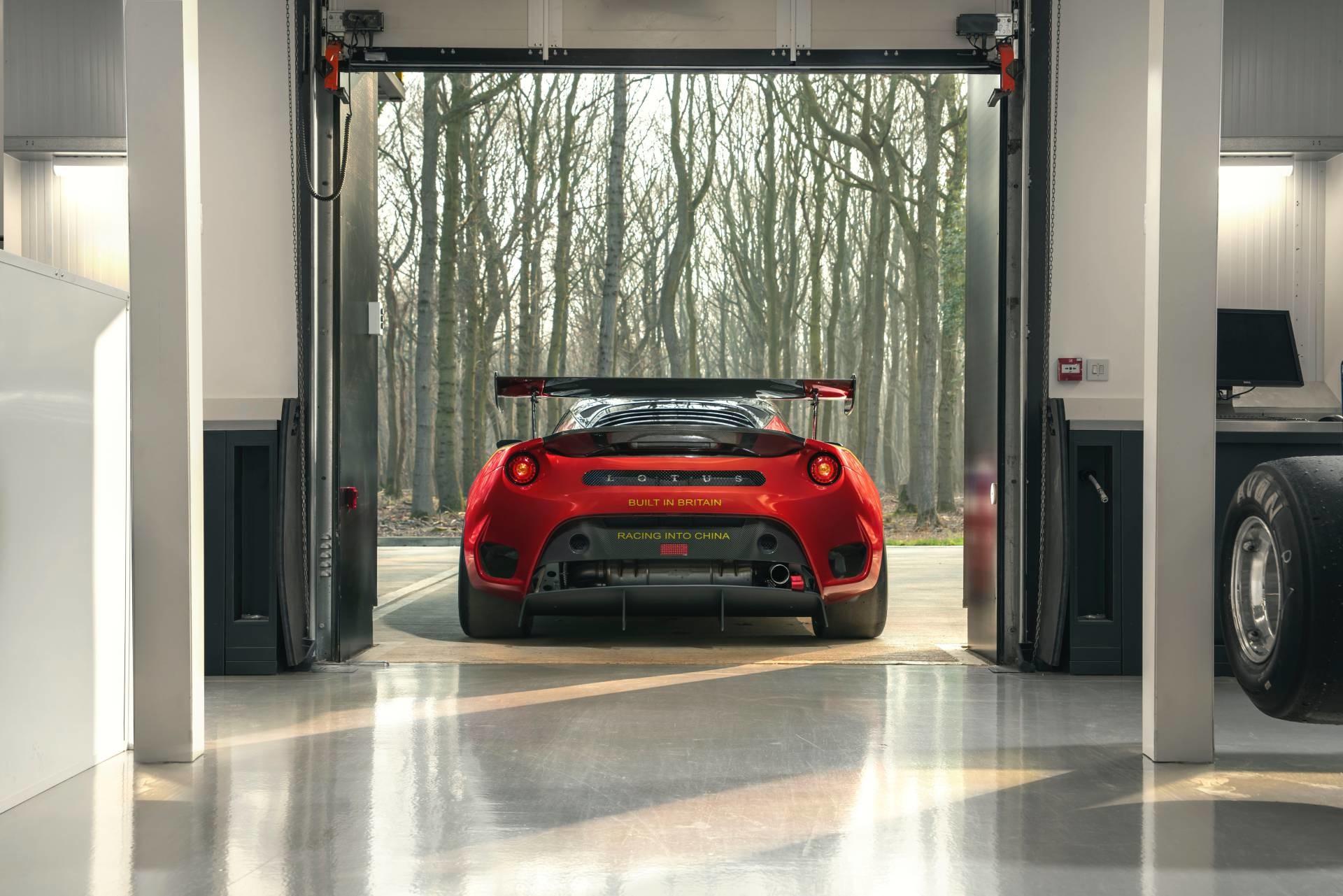 Foto de Lotus Evora GT4 Concept (26/27)