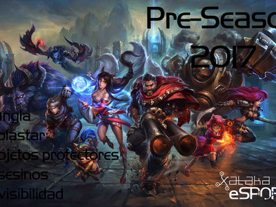 Así será la pre-temporada 2017 de League of Legends