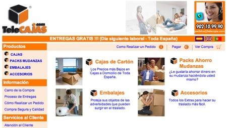 Telecajas.com, aprovechando el comercio electrónico