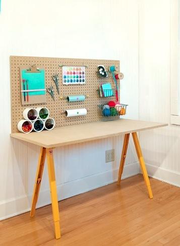 Hazlo t mismo una mesa de trabajo para ni os - Mesas pequenas para ninos ...