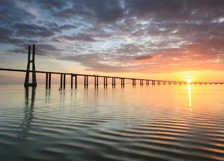 Puente Vasco da Gama (Lisboa), el más largo de Europa