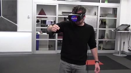 NASA usa Kinect y Oculus Rift para controlar brazo robótico