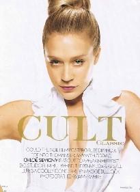 Chloë Sevigny en la revista Elle
