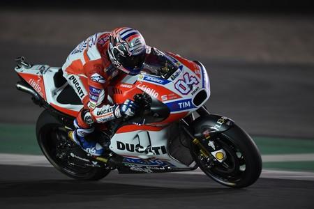Andrea Dovizioso Gp Catar Motogp 2017