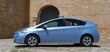 Toyota Prius 2012 perfil