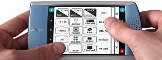 Jackito, la PDA que se controla con el pulgar