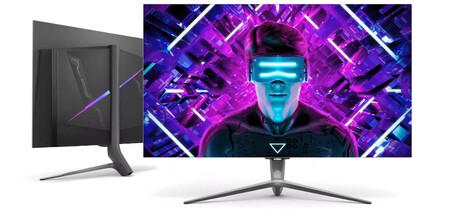 Este monitor parece una tele: 48 pulgadas, 4K y HDMI 2.1 son las cifras que luce el Skyworth G90