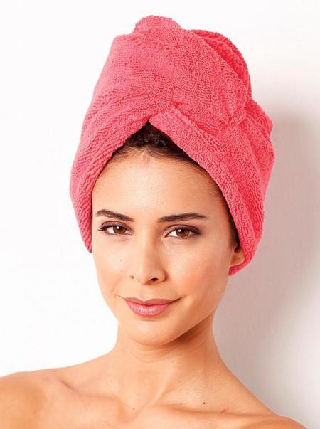 Aqua Dry, el turbante que evitará que tengamos que usar el secador de pelo a la salida del gimnasio