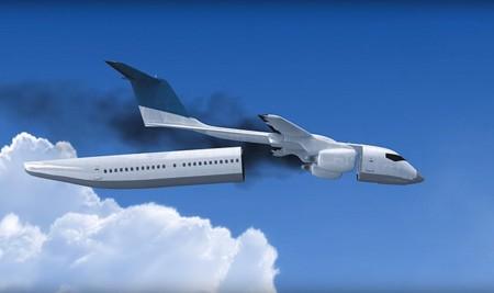 Este avión con cabina desmontable podría suponer una revolución ante los accidentes aéreos