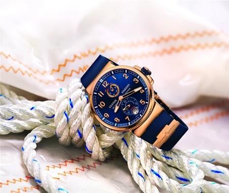 Ulysse Nardin vuelve a ser el protagonista. Esta vez con su nuevo Marine Chronometer Manufacture