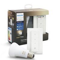 Kit Philips Hue White Ambiance, con una bombilla LED e interruptor, compatible con Alexa por sólo 24,75 euros