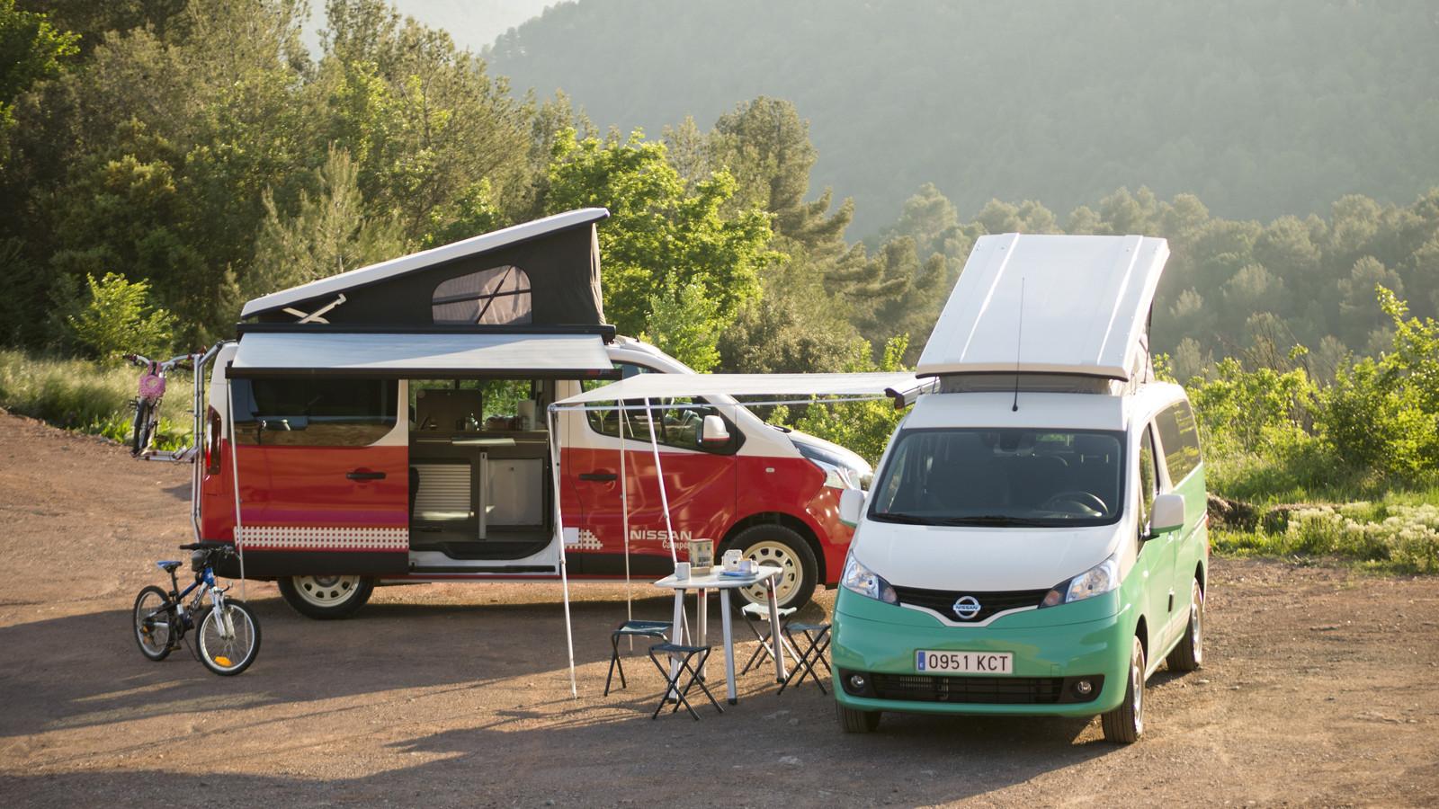 Foto de Nissan NV200 y NV300 camper (1/8)