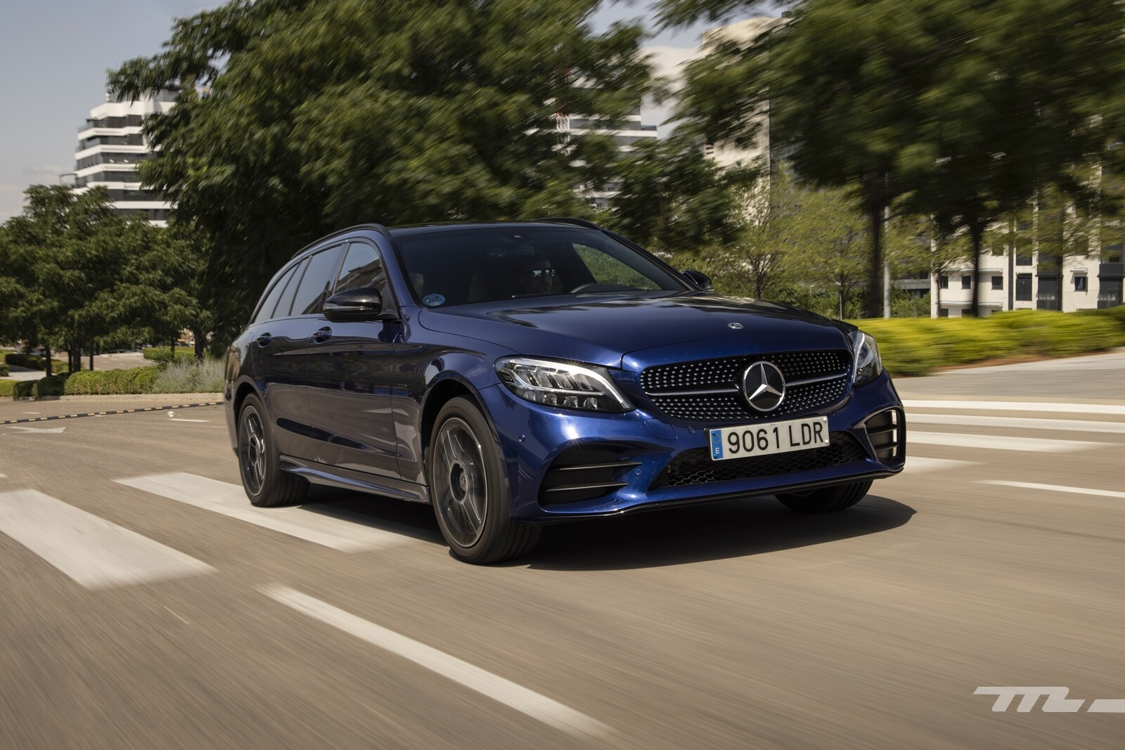 Foto de Mercedes-Benz C 300 de Estate 2020, prueba (24/46)