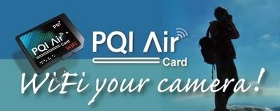 PQI lanza Air Card, tarjeta WiFi  con ranura microSD para que nunca te quedes sin memoria