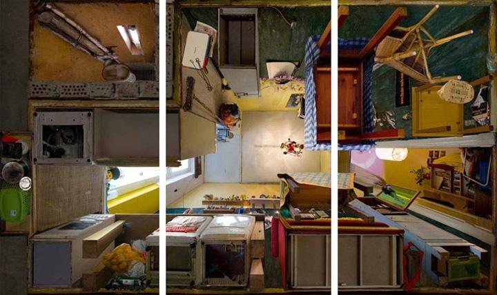 Foto de Habitaciones en contrapicado, por Michael Rohde (1/7)