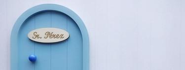 11 minipuertas adorables, para recibir al ratoncito Pérez, que hemos visto en Instagram