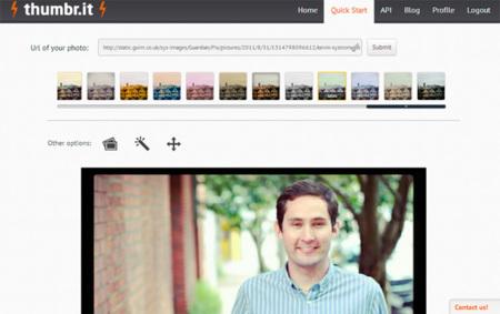 thumbr.it, añade filtros a las imágenes de forma sencilla y automática