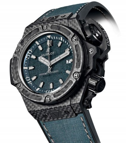 Hublot-Big-Bang-Jeans-Collection-Oceanographic 4000 Jeans
