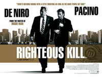 'Righteous Kill' con Pacino y De Niro, nuevo póster