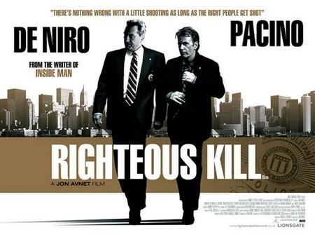 'Righteous Kill' con Pacino y De Niro, nuevo póster