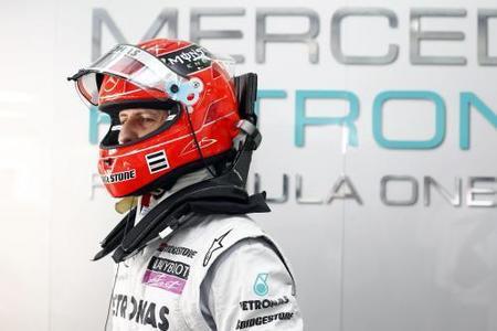 A pesar de los resultados, Michael Schumacher no se retirará antes de tiempo