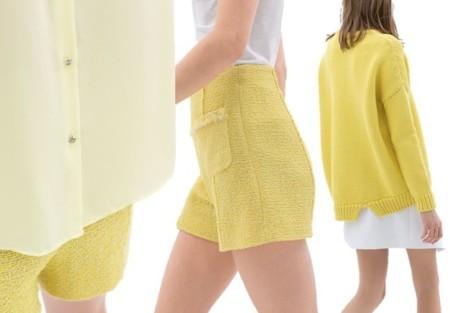 prendas amarillas en zara