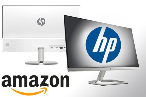 9 monitores HP rebajados en Amazon para los que quieran ahorrar renovando la pantalla de su PC de trabajo con diagonales entre las 22 y las 27 pulgadas