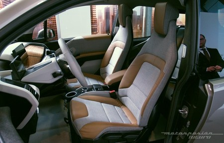 BMW i3 Madrid interior 25