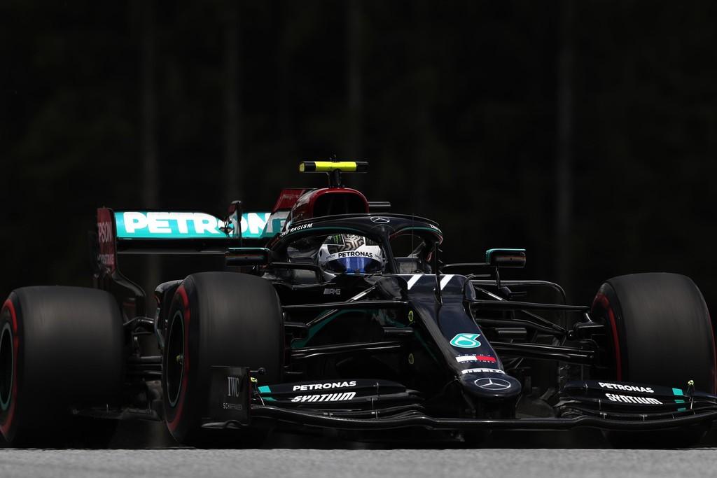Valtteri Bottas le quita la pole a Lewis Hamilton en Austria y Charles Leclerc maquilla el fracaso de Ferrari