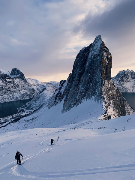 Hiking In Norway By Huapeng Zhao