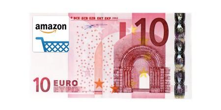 10 euros gratis en Amazon al usar su app para iOS y Android
