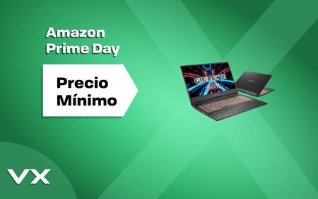 Amazon Prime Day 2021: este portátil gaming de Gigabyte con la RTX 3060 baja aún más de precio y cuesta sólo 899,99 euros