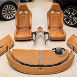 Este interior de Bugatti Veyron está a la venta en Ebay, y cuesta lo mismo que un BMW M4 CS