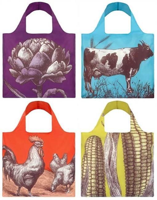 """Las shopper bags de LOQI en """"clave"""" rural"""
