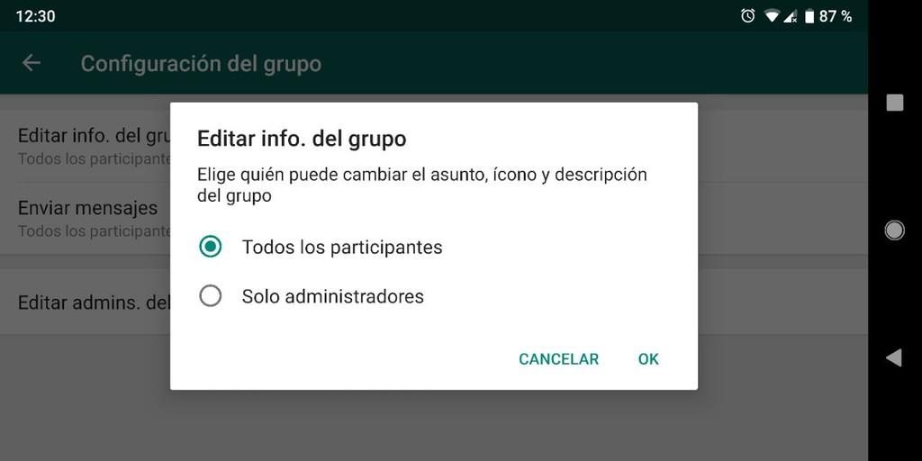 Info Grupo Whatsapp
