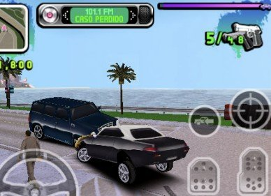 Controles coche Gangstar west